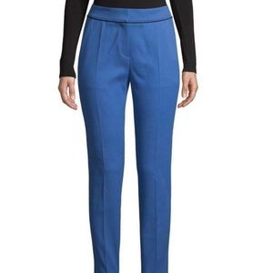 NWT HUGO BOSS the cropped trouser bright blue -2